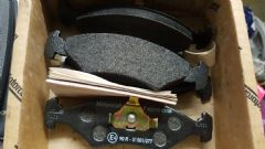 Full Set Front Brake Pads Mk4 Escort